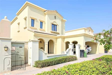 فیلا 3 غرف نوم للبيع في المرابع العربية 2، دبي - Single row short walk to pool good price