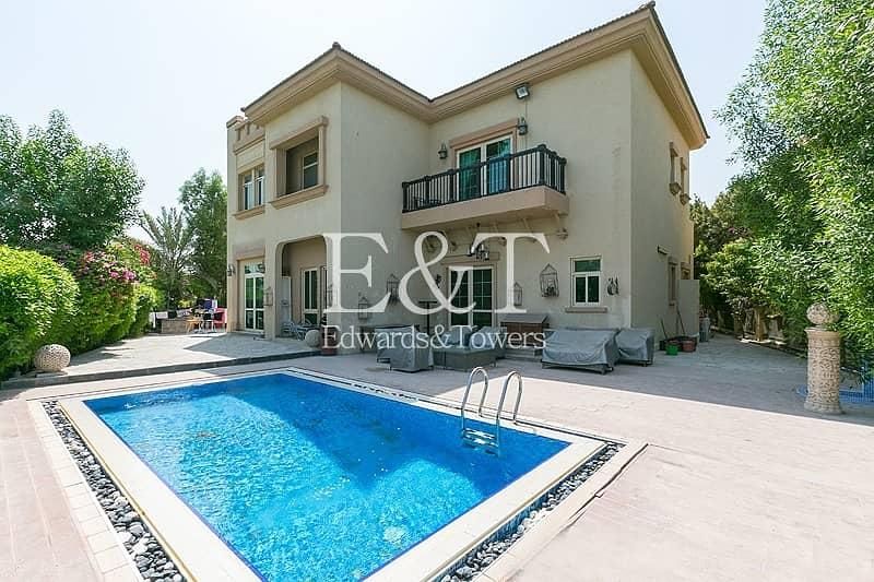 Highly Upgraded | 4 Beds+Pool+Garden+Parking | JI