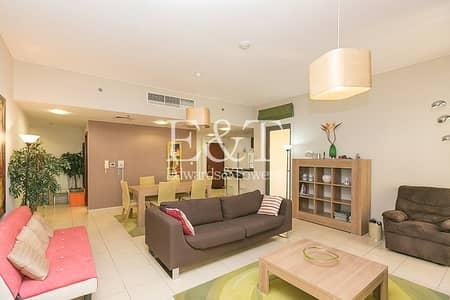 فلیٹ 1 غرفة نوم للايجار في جي بي ار، دبي - Biggest size | Furnished and equipped