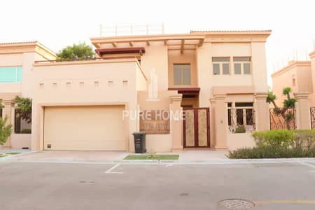 5 Bedroom Villa for Sale in Al Raha Golf Gardens, Abu Dhabi - Move in Now Spacious and Beautiful 5 Bedrooms Villa with Maid Room Call us Now