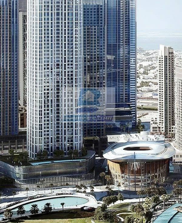2 Luxurious. Half floor- Facing Burj Khalifa & Fountain - Top World Class- DLD waived- 5 Years Payment Plan