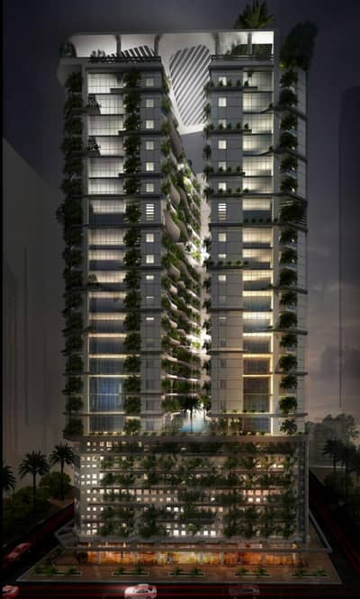 Studio for Sale in Al Amerah, Ajman - Pay only AED 10,000 and have your dream apartment and premium rest on 90 month Ajman farm tower