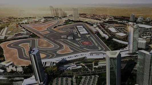 Plot for Sale in Motor City, Dubai - Freehold G+3 Office Retail Plot - Motor  City Business  Park