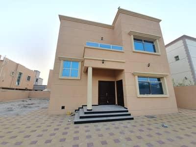 فیلا 5 غرفة نوم للبيع في مشيرف، عجمان - فيلا جديده 5 غرف بموقع ممتاز وتشطيبت متميزه بواجهه حجر