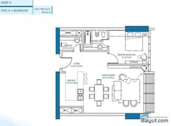 1 Bedroom Unit 4