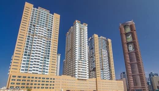 استوديو  للايجار في الصوان، عجمان - شقة في أبراج عجمان ون الصوان 19000 درهم - 4333790