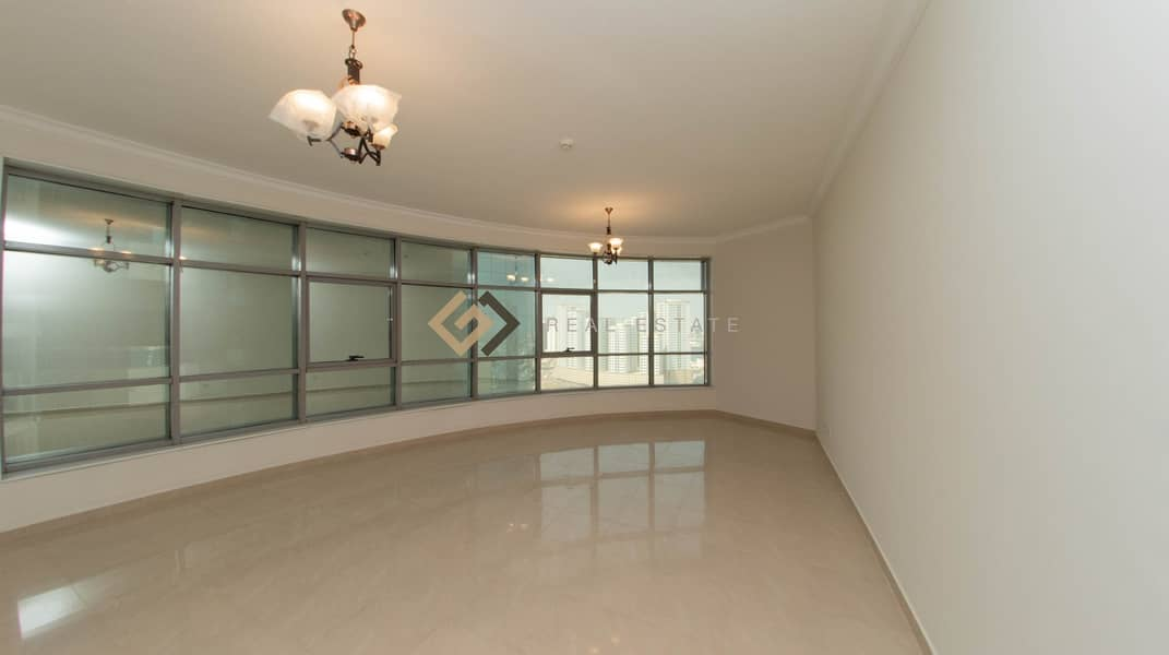 3 Bedroom Spacious Apartment in Conqueror Tower Ajman
