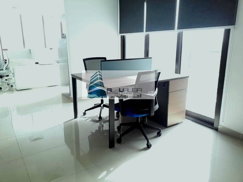 10 EXECUTIVE WORKING SPACES  Designed Professionally in Garhoud Views