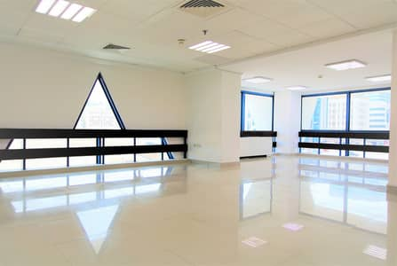 Office for Rent in Airport Street, Abu Dhabi - Fabulous and Bright Office rent starts at 75K
