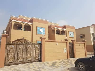 5 Bedroom Villa for Sale in Al Mowaihat, Ajman - The latest international designs luxury hotel finishing for the owners of fine taste and those looking for comfort within their home