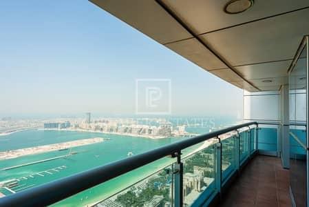 2 Bedroom Flat for Rent in Dubai Marina, Dubai - Marina and Sea View|Spacious layout|Princess Tower