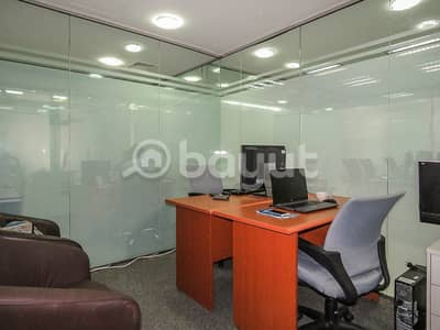 Office Renewal  Best Price Available in Al Muteena Road near to bus stop and metro station