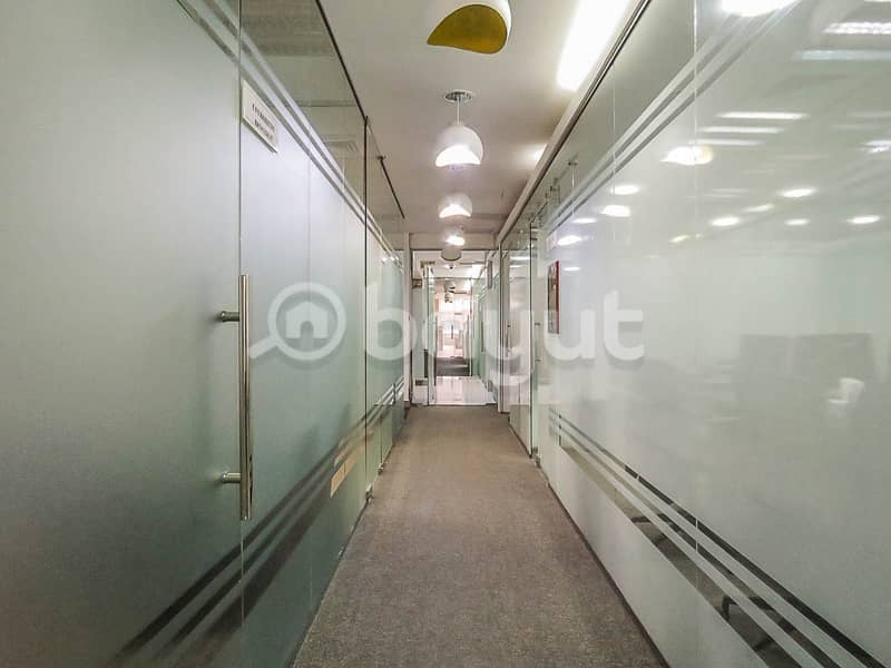 10 Office Renewal  Best Price Available in Al Muteena Road near to bus stop and metro station
