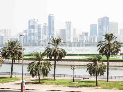 One Month Free, Direct From Owner, Chiller Free, No Commission, 2 B/R  Spacious Big Apartments, Partial View Khalid Lake,