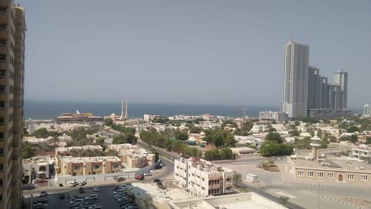 1 Bedroom Flat for Rent in Al Sawan, Ajman - full sea view one bedroom