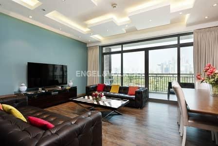 فلیٹ 3 غرفة نوم للايجار في ذا فيوز، دبي - Upgraded|Golf Course View|Plus Maids Room