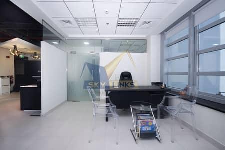 مکتب  للايجار في الخليج التجاري، دبي - HIGH FLOOR Office Space Available For Rent in Business Bay