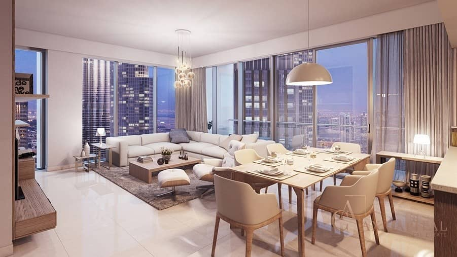 PRISTINE APARTMENT IN DOWNTOWN DUBAI WITH STUNNING VIEW