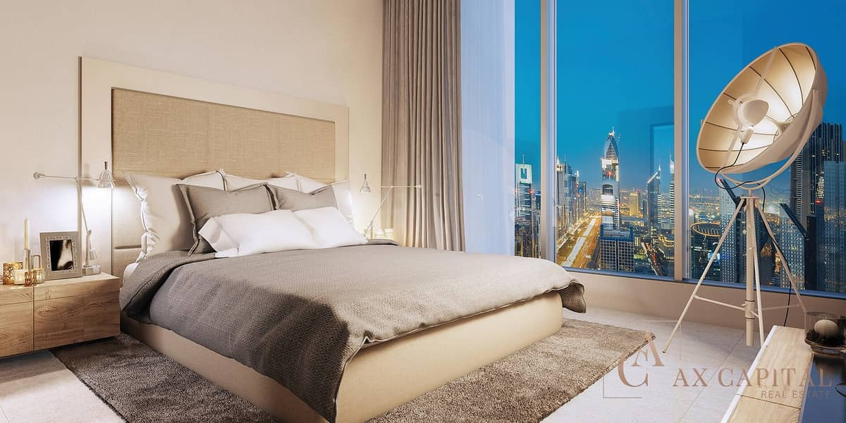 10 PRISTINE APARTMENT IN DOWNTOWN DUBAI WITH STUNNING VIEW