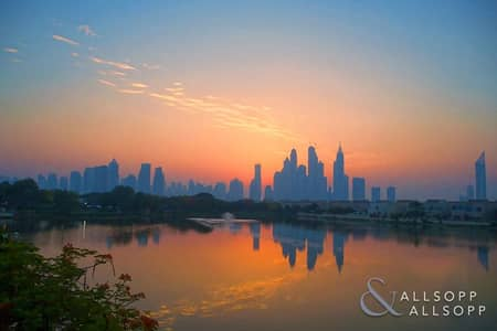 4 Bedroom Villa for Sale in The Lakes, Dubai - Upgraded | Marina Skyline and Lake View