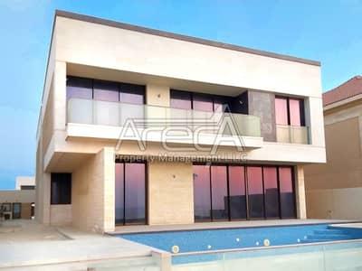 7 Bedroom Villa for Rent in Saadiyat Island, Abu Dhabi - Resort Style Lifestyle With Water Views | 7BR in Saadiyat Island