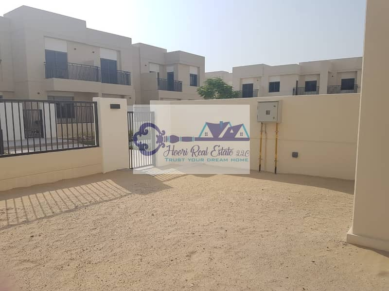 9 Lavish! Brand New 3 bed+ Maid Villa For Rent in Safi Townhouses @95k