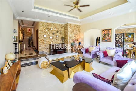 5 Bedroom Villa for Sale in Jumeirah Golf Estate, Dubai - Upgraded | Maids + Drivers room | Spacious 5 BR
