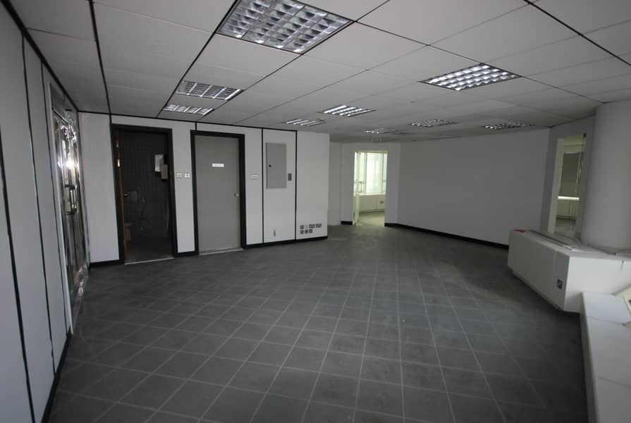 10 Free DEWA and Chiller Fitted office near Emirates Tower Metro