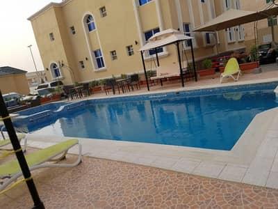 Studio for Rent in Al Manaseer, Abu Dhabi - EYE CATCHING STUDIO IN BEAUTIFUL COMPOUND WITH POOL AT KHALIFA B 35K