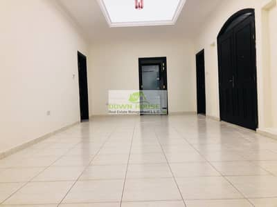 2 Bedroom Flat for Rent in Khalifa City A, Abu Dhabi - Royal awesome 2 beds apt with private back yard near rthad plaza