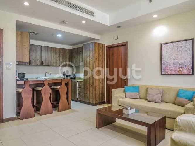 Furnished 2 BR apartment near Mall of Emirates