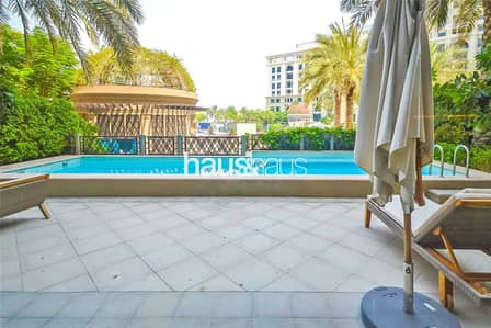 3 Bedroom Apartment for Rent in Culture Village, Dubai - 3 Bed Duplex | Versace Furnishings | Private Pool