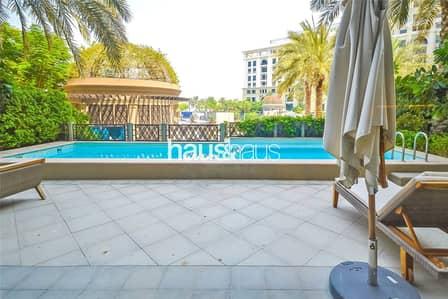 شقة 3 غرفة نوم للايجار في القرية التراثية، دبي - 3 Bed Duplex | Versace Furnishings | Private Pool