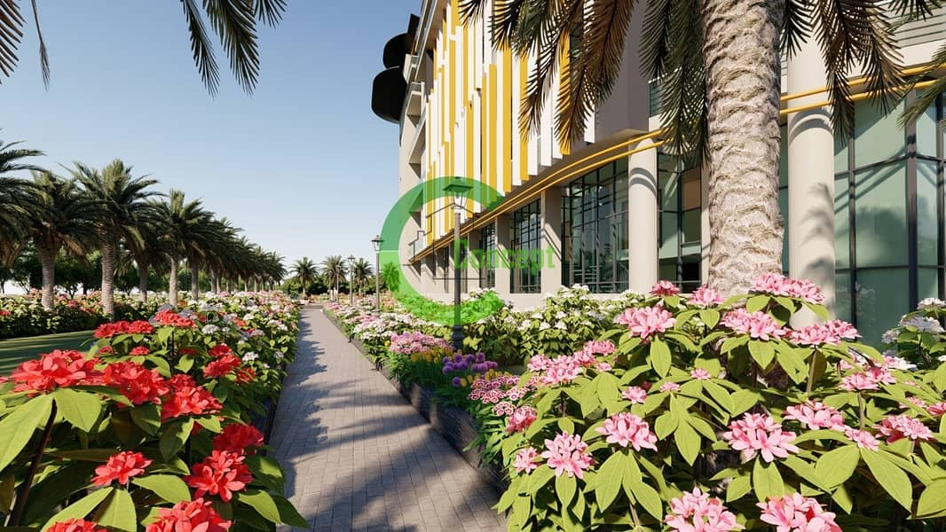 10 Eco-friendly Courtyard View Studio Apartment at Oasis