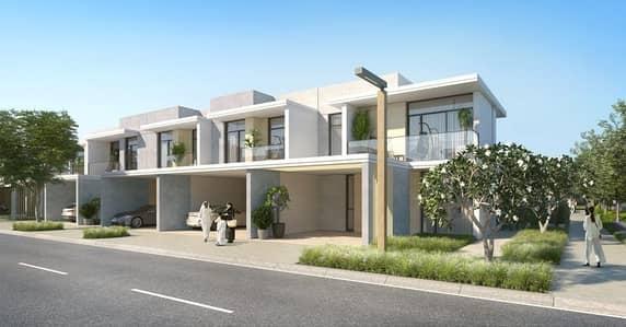 تاون هاوس 3 غرفة نوم للبيع في المرابع العربية 3، دبي - Come Home to Dubais Happiest Address Offering 3 & 4 BR Townhouses with Numerous Outdoor Facilities