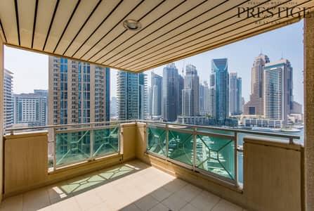 2 Bedroom Apartment for Sale in Dubai Marina, Dubai - 2 Bedroom + Study | Al Anbar Tower |  Dubai Marina