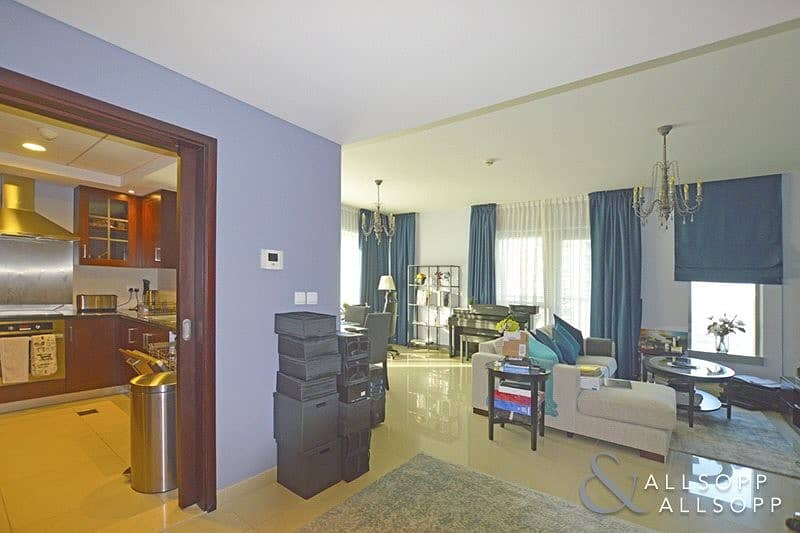 2 1Bed + Study | Full Fountain and Burj View