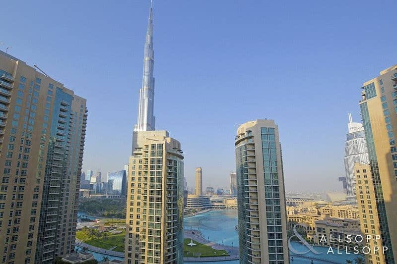 1Bed + Study | Full Fountain and Burj View