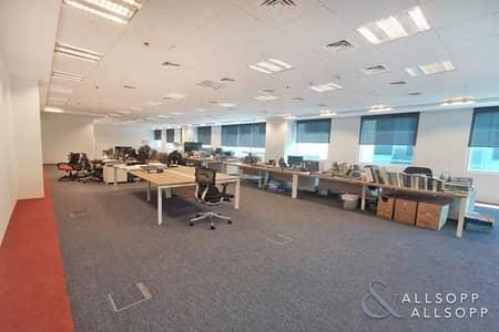مکتب  للايجار في الخليج التجاري، دبي - Fitted Office | 7 Parking Spaces| High End