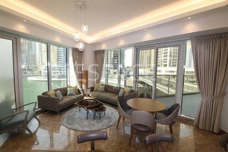 فلیٹ 2 غرفة نوم للايجار في دبي مارينا، دبي - Chiller Free | Furnished | Marina View