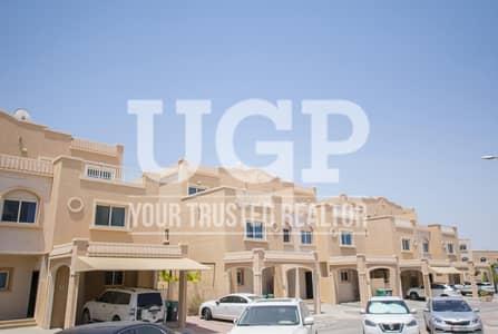 3 Bedroom Villa for Rent in Al Reef, Abu Dhabi - Vacant Now| Single Row Villa with Huge Garden
