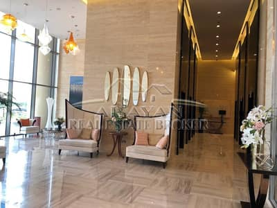 Hotel Apartment for Rent in Jumeirah Village Circle (JVC), Dubai - 37TH FLOOR | BRAND NEW LAVISLHLY FURNISHED,HOTEL SERVICED STUDIO FLAT FOR RENT | LARGE BALCONY