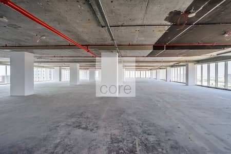 Shell and Core office available full floor