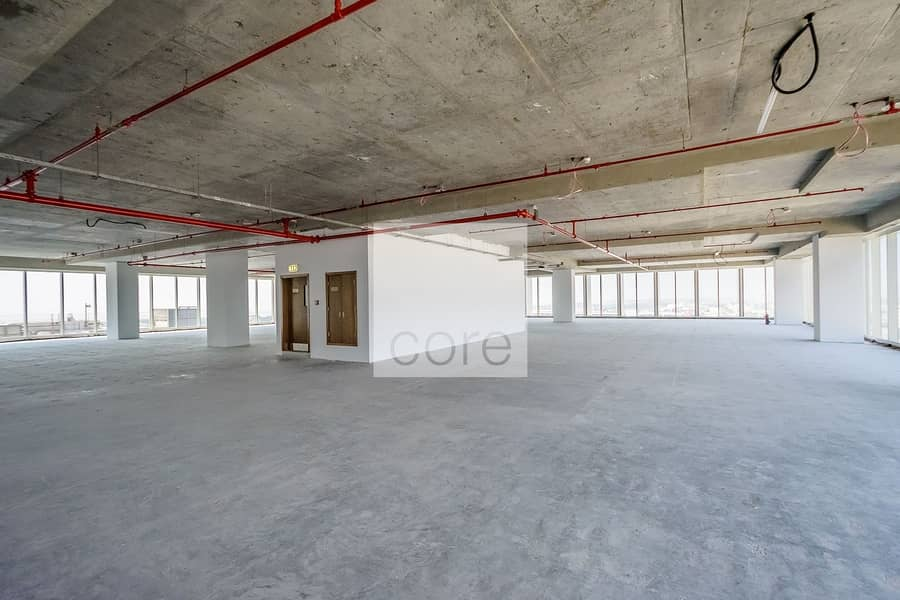 2 Shell and Core office available full floor