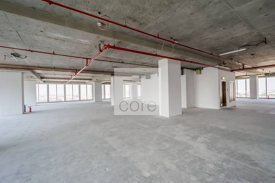 10 Shell and core office full floor vacant