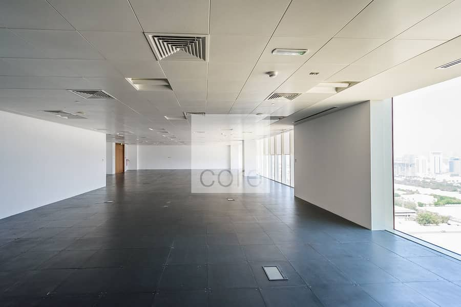 2 CAT A office available for lease high floor