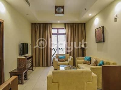 فلیٹ 1 غرفة نوم للايجار في البرشاء، دبي - Fully furnished 1 bedroom apartment for rent Al Barsha 1