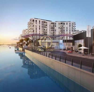 3 Bedroom Flat for Sale in Yas Island, Abu Dhabi - Main Building & Water View  3BR+Maid's
