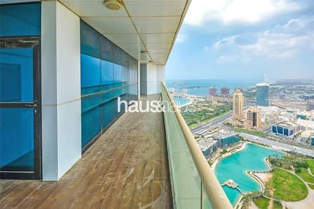 3 Bedroom Flat for Rent in Dubai Marina, Dubai - 23 Marina | Incredible View | Maids | Chiller Free