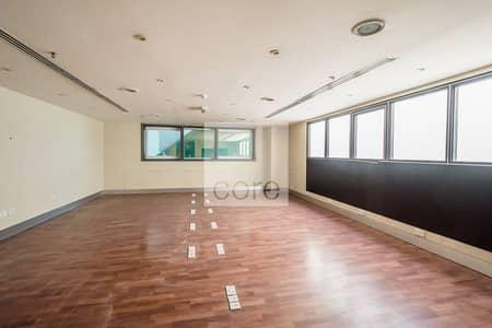 مکتب  للايجار في شارع الشيخ زايد، دبي - Fitted Office | High Floor | Close to Metro